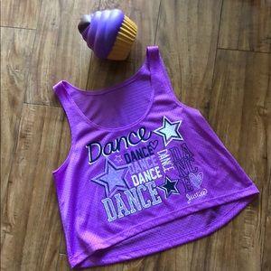 Justice dance tank top